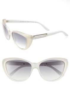 MARC BY MARC JACOBS 56mm Cat's Eye Sunglasses | Nordstrom - Perfect for the beach!