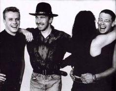 U2. Bono giving Adam some love.