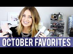 October Favorites | Kendra Atkins - YouTube