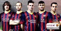 Qatar and Barcelona. Impressive sponsor deal.