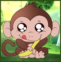 How to Draw a Baby Monkey, Step by Step, forest animals, Animals, FREE Online Drawing Tutorial, Added by Dawn, March 21, 2009, 3:44:24 am