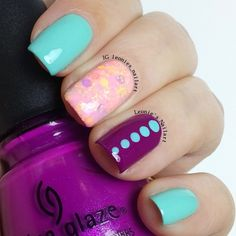 Pink Mix 'n Match - Leonie's Nailart