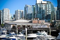 Cardero's Restaurant in Coal Harbour