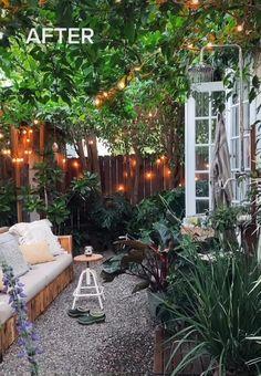 Small Garden Landscape, Small City Garden, Small Courtyard Gardens, Small Courtyards, Small Backyard Gardens, Small Backyard Landscaping, Backyard Pools, Small Garden Shelter, Backyard Cafe