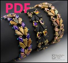 bead weaving patterns for bracelets Beaded Necklace Patterns, Seed Bead Patterns, Beading Patterns, Mosaic Patterns, Loom Patterns, Embroidery Patterns, Knitting Patterns, Crochet Patterns, Beading Projects