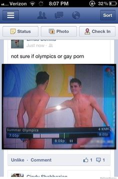 Not sure if Olympics...
