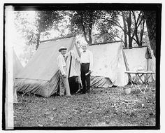 how presidents used to camp