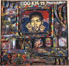 willie bester homage to steve biko Steve Biko, Africa Art, Africa Style, South African Artists, Political Art, Ap Art, Africa Fashion, Black Art, Art History