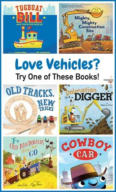 fantastic new picture books for kids who love vehicles