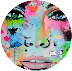 Hello - Available in 4 different sizes, round ready to hang modern art from http://www.the-artwork-factory.com/circular-art/hello-circular-art.html. By The Artwork Factory.