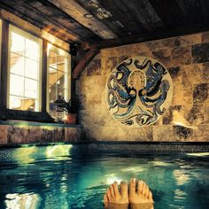 Endless Pool meets the Kraken