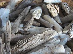 Bulk Driftwood Lot 25 Short Stubby Pieces by SaltyGirlandLongDog