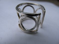 Adjustable Sterling Silver Ring by LUQ2 on Etsy