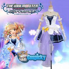 XS-XXL The Idol Master Starlight Stage Mio Honda Custom Made Cosplay Costume CP165755
