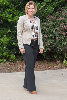 More neutrals for fall - Savvy Southern Chic, neutral outfit, fall office outfit, simple fall outfits for work