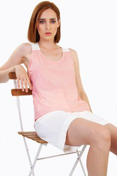 Here we are with your new add-to card piece! Body Measurements, Good Times, Soft Fabrics, Basic Tank Top, Tank Tops, Casual, Summer, Model, How To Wear