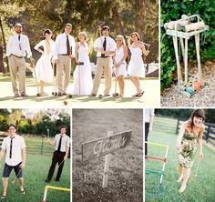 Fresh And Modern Wedding Ideas Inspiration For Your Backyard Reception