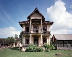 Abandoned French mansion, Phnom Penh, Cambodia. Picture by Thomas Jorion.