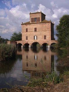 Delta del Po, Chioggia - Italy #bridge
