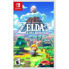 The Legend of Zelda: Links Awakening - Switch - Nintendo Switch spil Nintendo 3ds, Nintendo Switch Zelda, Nintendo Console, Nintendo Systems, Nintendo Eshop, Nintendo Switch Games, The Legend Of Zelda, Breath Of The Wild, Charmed Characters
