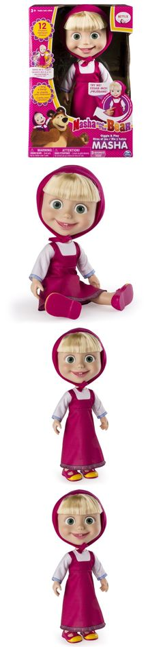 Dolls And Bears: Masha And The Bear - 12 Giggle And Play Masha - Interactive Doll -> BUY IT NOW ONLY: $31.3 on eBay!