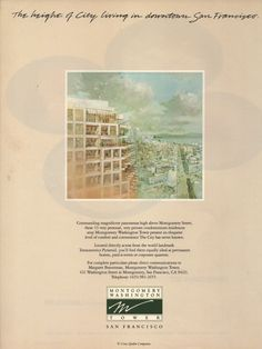 Vintage San Francisco Condo Gentrification. Architectural Digest, September, 1984