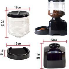 Pets Automatic Pet Feeder Dispenser for Dogs Automatic Cat Feeder, Pet Feeder, Homemade, Pets, Home Made, Diy Crafts, Hand Made, Diys