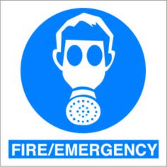 Fire emergency £0.99 #signs #mandatory