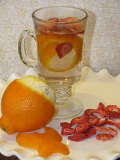 Lose 50 LBS by JULY 4th with this ZERO CALORIE Detox Drink! Ditch the Diet Sodas and the Crystal Light, try this METABOLISM BOOSTING Strawberry Tangerine Drink and drop up to 10 lbs PER WEEK! Best part...... you get to eat! #LoseWeightByEating