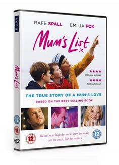Grab the tissues, Mum's List is out on Digital HD and DVD from 20th March 2017
