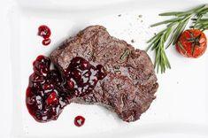 brusnicová omáčka na steak