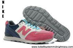 253bbb38b0b3 2013 New New Balance NB WR996 peach blossom Pink light Blue For Women shoes  Cheap Shoes
