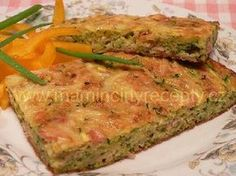 Cuketová buchta slaná Meatloaf, Quiche, Foodies, Food And Drink, Breakfast, Recipes, Outdoor, Morning Coffee, Outdoors