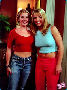Britney Spears on Sabrina, the Teenage Witch.