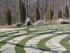 Avalon Gardens, Stony Brook, NY. stone labyrinth - Bing Images What Is A Labyrinth, Labyrinth Maze, Stony Brook, Labyrinths, Long Island Ny, Spiritual Path, Adventure Time, Stepping Stones, Paths
