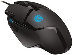 Buy Logitech Black 8 Buttons 1 x Wheel USB Wired Optical 4000 dpi Hyperion Fury FPS Gaming Mouse with High Speed Fusion Engine with fast shipping and top-rated customer service. Gaming Computer Setup, Computer Mouse, Cool Technology, Technology Gadgets, Electronics Gadgets, Black Ops, Nintendo Ds, Notebooks, Coupon
