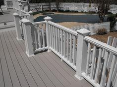 Horizontal Wood Fence Grey