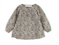 poppy rose liberty print blouse