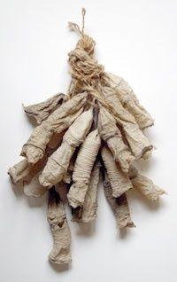 Afbeeldingsresultaat voor string textile bundles wrapped