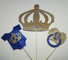 Pastel de pañal de príncipe Príncipe centro por fourDOLLYSboutique
