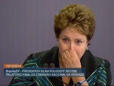 Dilma chora durante discurso sobre a Ditadura.