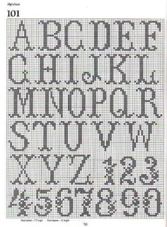 free crochet: write your name by crochet/Peterson,Woodward/Need pattern for both names
