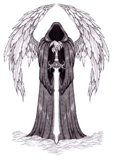 Dark Angel Tattoo by Annikki on deviantART