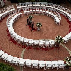 Sacramento wedding featuring a spiral formation of ceremony chairs & a replica o - Batman Wedding - Ideas of Batman Wedding - Sacramento wedding featuring a spiral formation of ceremony chairs & a replica of Paris Pont des Arts love lock bridge. Ceremony Seating, Wedding Seating, Wedding Guest Book, Wedding Ceremony, Our Wedding, Dream Wedding, Wedding Ideas, Wedding Rustic, Wedding Pictures