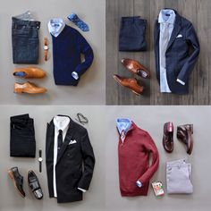 Business casual combo inspiration from @runnineverlong #menswear #fashion #sweater #style