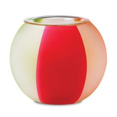 Cheery stripes bring a beach vacation vibe to any space. Light a tealight, sold separately, to create the illusion of jumping fish and rolling waves under a sunny summer sky. www.PartyLite.com