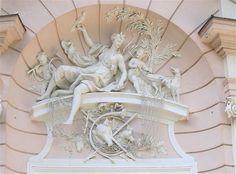 Amalienburg Nymphenburg Detail