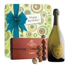 Happy Birthday with Dom Perignon & Godiva Truffles - Gourmet Gift Baskets For All Occasions Get Well Gift Baskets, Get Well Gifts, Birthday Gift Baskets, Birthday Gifts, Happy Birthday, Chocolate Treats, Chocolate Lovers, Champagne Gift Baskets, Dom Perignon