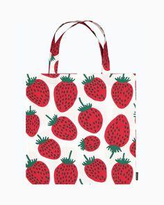 Marimekko, Handicraft, Tote Bag, Bags, Fabrics, Design, Craft, Handbags, Tejidos