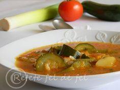 Astazi mancam supa de legume,una dintre cele mai bune dupa parerea Deei, si-a mea …